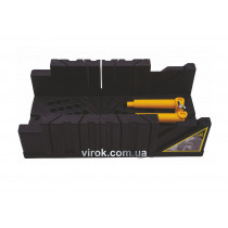 """Стусло VIROK пластмасове із затискачами 320х120х75 мм (4,5""""+M)  (18)"""
