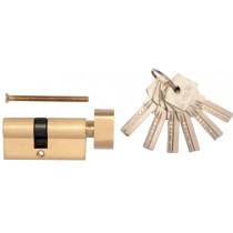 Сердцевина замка латунная VOREL 72 мм 31/41 мм 6 ключей