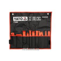 Съемники для демонтажа обивки автомобильного салона YATO 11 шт