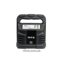 Зарядний прилад YATO 12V, 12А, 6-200Ah [8]