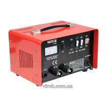 Зарядное устройство для аккумуляторов 12/24 В YATO 16 А 240 Ач