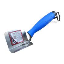 Мастерок для внутренних углов с нержавейки PROFI ТМ VIROK 80 х 60 мм двухкомпонентная ручка