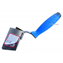 Мастерок для внешних углов с нержавейки PROFI ТМ VIROK 80 х 60 мм двухкомпонентная ручка
