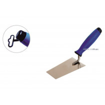 Мастерок трапециевидный с нержавейки PROFI ТМ VIROK 180 мм двухкомпонентная ручка