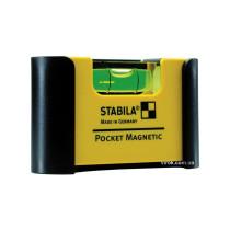 Уровень мини магнитный STABILA Pocket Magnetic 7х 2х 4 см