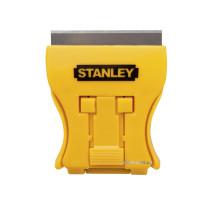 """Скребок-міні для скла STANLEY """"Mini Glass Scraper"""" в комплекті з 5 лезами; 5х4,3 см, лезо l= 43 мм"""