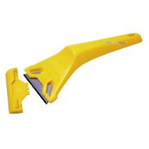 Скребок STANLEY для скла, пластмасовий зі стандартними лезами шириною 60мм , L = 170мм