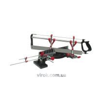 Стусло металеве поворотне з пилою 550мм VOREL, /TUV GS/, 22,5°,30°,36°,45°,90°