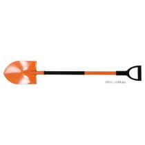 Лопата штыковая канадская с металлической ручкой FLO 22.5 х 30 см