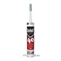 Герметик полиуретановый для крыш серый SELSIL PU 40 300 мл