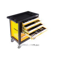 Шкаф с инструментами на колесах VOREL 770 х 458 х 901 мм с 6 шуфлядами 177 шт