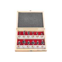 Набор фрез AEG 8 мм в деревянном футляре 12 шт (4932430836)