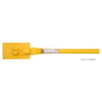 Прутозгинач VOREL ручний для металевих стержнів Ø=14-16 мм; роб. площина- 25х16х6 мм