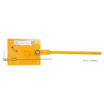 Прутозгинач VOREL ручний для металевих стержнів Ø=10-14 мм; роб. площина- 25х20х5 мм