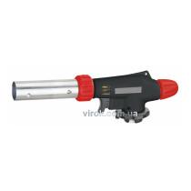 Газовая горелка с пьезозапалом и регуляцией доступа воздуха 360° VIROK с цанговым соединением