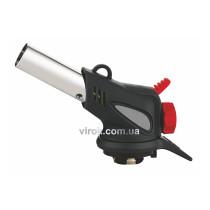 Газовая горелка с пьезозапалом и керамическим соплом VIROK с цанговым соединением