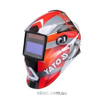 Маска сварщика YATO защитная с саморегулируемым фильтром