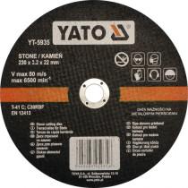 Диск отрезной по камню YATO 230 х 22 х 3.2 мм