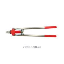 Заклепочник двуручный VOREL для заклепок Ø=3.4, 4, 4.8 мм 400 мм