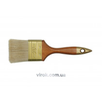 Кисть флейцевая VOREL ПРОФИ с деревянной ручкой 102 мм