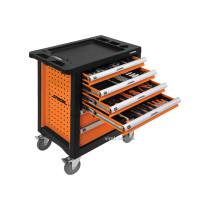 Шафа для майстернь STHOR  на колесах 975 х 765 х 465 мм з 6 шуфлядами та інструментами 302 шт
