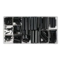 Штифти розрізні YATO Ø=1.5-10 мм l=5-50 мм набір 315 елементів