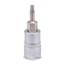 """Головка торцевая с отверточной насадкой TORX YATO 1/4"""" Т10 х 37 мм"""