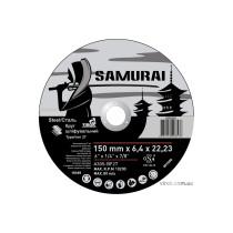 """Круг шлифовальный по металлу A30S-BF27 SAMURAY ТМ """"VIROK"""" Ø=150х22.23 мм t=6.4 мм"""
