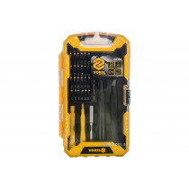 Набор насадок отверточных VOREL с обладунками для ремонта мобильных телефонов 32 шт