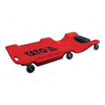 Лежак для ремонта на 6 колесах YATO 1 м