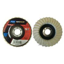 Круг лепестковый фетровый NORTON для полировки 115 х 22.2 мм