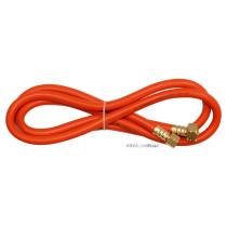 Шланг газовий для з'єднання пальників і балону VOREL, l= 5 м