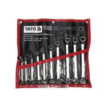 Набор ключей накидных YATO М6-27 мм 10 шт