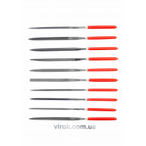 Набор надфилей YATO 140/65 х 3 мм 10 шт