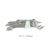 Набор ключей рожковых VOREL М6-32 мм 10 шт