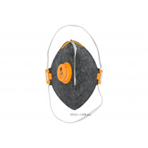 Маска респираторная VOREL противоаэрозольная с фильтрованным клапаном