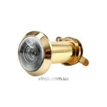 Глазок дверной VOREL 35-50 мм GOLD