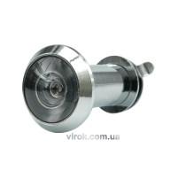 Глазок дверной VOREL 35-50 мм SILVER