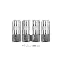 Наконечники для мастильного шприца VOREL Ø=15 мм 4 шт