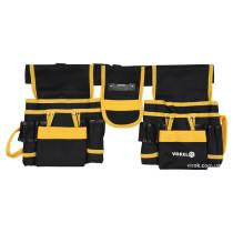 Пояс монтажника для інструментів VOREL з поліестеру 6 кишень 2 пересувні відсіки і стрічковий захоп