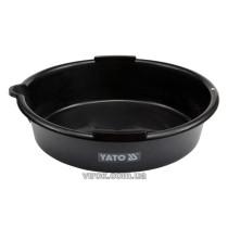 Посудина для зливу оливи YATO, V= 8 л, Ø= 37см  [48]