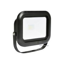 Прожектор SMD LED діодний мережевий 230 В VOREL 10 Вт 800 lm 6000 К з кріпильною скобою