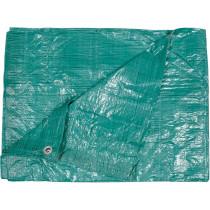 Тент зелений VOREL 57 гр/м², 4 х 5 м