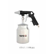 Пистолет пескоструйный с баком YATO