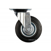 Колесо для тележки с вращающейся опорой VOREL Ø200 x 46 x 235 мм 150 кг