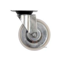 Колесо до візка поліамідове Ø= 100 мм, b= 31 мм VOREL з обертовою опорою; h= 130 мм, навант.- 60 кг