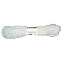 Мотузка господарська Тип 5 TM VIROK, 5мм Х 20 м, р/н=80кгс, поліпропіленова, без серцевини, біла