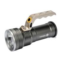 Ліхтар VOREL CREE XM-LM світлодіодний 10 Вт, 3 режими, 500 lm, живлення - 3 АА, Ø=65 мм l=155 мм