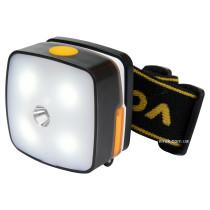 Фонарь налобный светодиодный аккумуляторный VOREL Li-Ion 3.7 В 850 мAч 3 Вт 130+160 лм