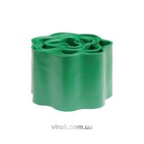 Бордюрная лента для газона зеленая FLO 100 мм 9 м